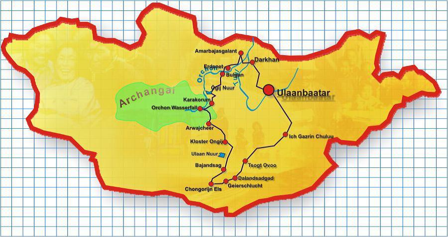 Karte_Klassische Rundreise