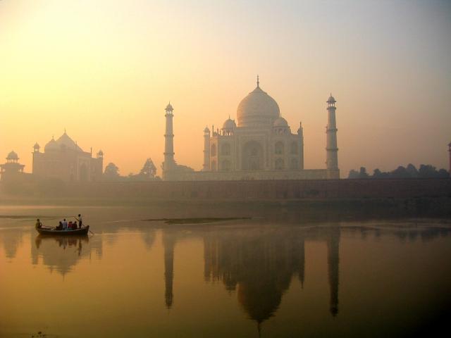 Go East Reisen Taj Mahal