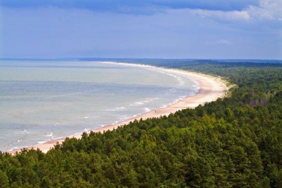 Lettland Strand