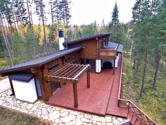 urlaub in einer luxus villa in finnland go east reisen gmbh. Black Bedroom Furniture Sets. Home Design Ideas