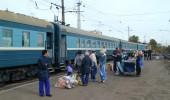 Transsibirische Eisenbahn Juli 2014